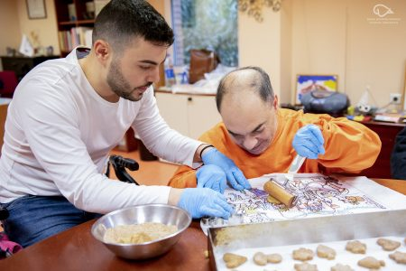 Cerebral Palsy cooking